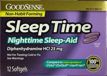 Goodsense Good Sense 1941230 Sleep Time Softgels - Case of 6