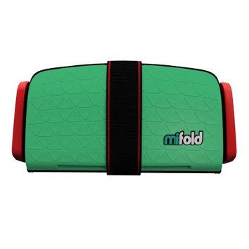 mifold Grab-N-Go Car Booster Seat Lime Green