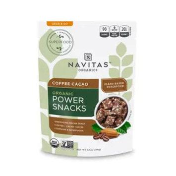 Navitas Organics Power Snacks Coffee Cocao, 3.5OZ