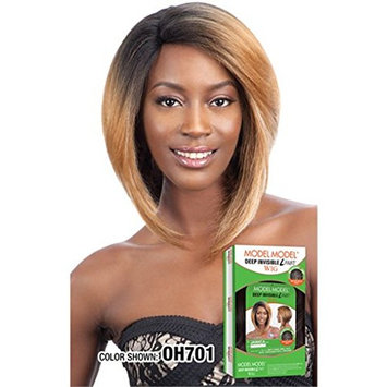 JANICA (OH701) - Model Model Deep Invisible L Part Full Wig