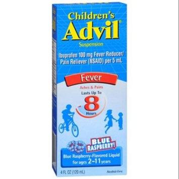 Advil Childrens Suspension Blue Raspberry Flavored, 4 oz (Pack of 3)