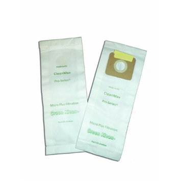 Green Klean Replacement Vacuum Cleaner Bags for CleanMax & CleanMax Pro-Series; Tennant V-SMU-14; Tornado CK 14/1; Riccar 4000 & 2000 series, Simplicity Type A