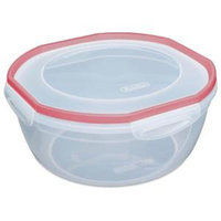 Sterilite Ultra-Seal 4.7 Qt. Bowl Food Storage Container (4-Pack)