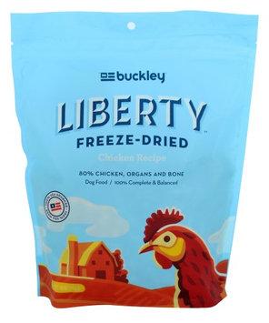 Buckley Liberty Freeze Dried Dog Food - Natural, Grain Free size: 10 Oz