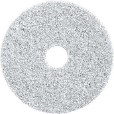 TOUGH GUY 6YMX0 Cleaning Pad,13 In, White, PK2