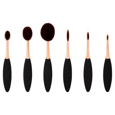 Longtian Intl Co Premium Professional Cosmetic Brush Set, 6 pc
