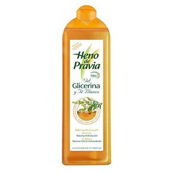 Heno de Pravia - Glicerina Té blanco - Gel de ducha - 650 ml