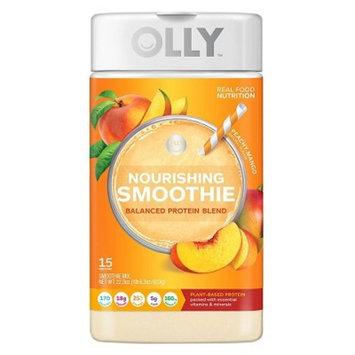 Olly Nourishing Smoothie Protein Powder - Peach Mango - 22.3oz