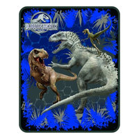 Keurig Universal Studios Home Entertainment Universal Jurassic World Rumble In The Jungle Silk Touch Throw