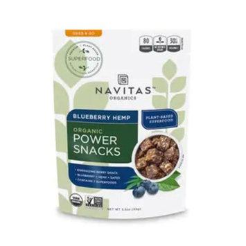 Navitas Organics Power Snacks Blueberry Hemp, 3.5OZ