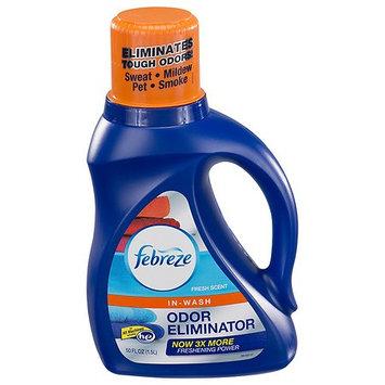 Febreze In Wash Laundry Odor Eliminator Fresh Scent 50.0 oz.(pack of 6)