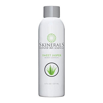 Skinerals Body Lotion Sweet Jasper with Organic and Natural Ingredients Vanilla Scent with Aloe, Coconut Oil, and Shea Butter for Softer Mosturized Skin