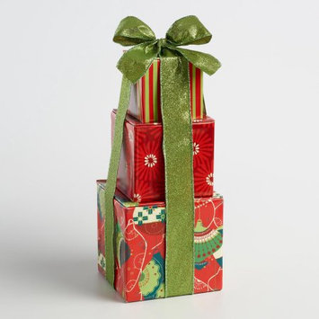 Gordan Gifts Inc Holiday Red Gift Tower
