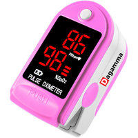 Finger Pulse Oximeter DP100-CMS50DL in Rose Pink - The Authentic Pulse Oximeter by Dagamma
