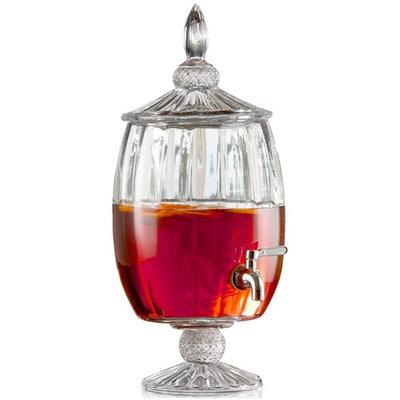 Madison 1.7-Gallon Optic Glass Beverage Dispenser
