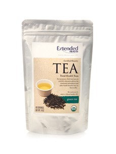 Organic Green Tea 4 oz by Extended Health