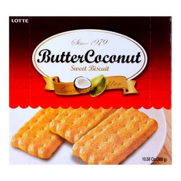 LOTTE Butter Coconut Biscuit 300g