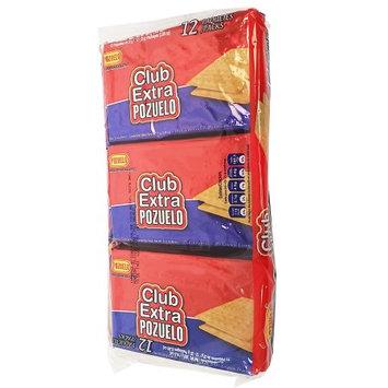 Pozuelo Club Extra BAG Cookies 10.6 oz - Galletas (Pack of 18)