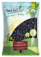 Organic Pitted Prunes - Dried California Plums, Non-GMO, Unsulfured, Unsweetened, Bulk (by Food to Live) (10 Pounds)