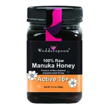 (3 PACK) - Wedderspoon - RAW Manuka Honey Active 16+ | 500g | 3 PACK BUNDLE: Health & Personal Care
