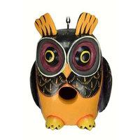 Songbird Essentials SE3880215 Fall Colors Owl Gord-O Birdhouse