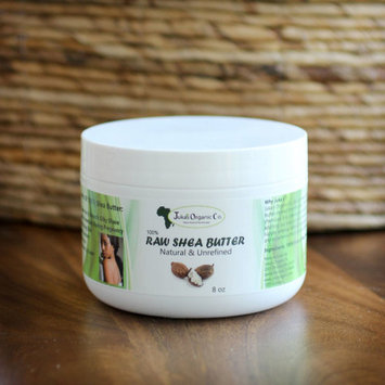 Juka's Organic Co. Shea Butter Ivory, 100% Raw & Natural From Africa - 8 oz