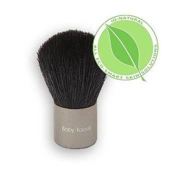 Baby Kabuki Brush - Best Foundation Brush for Mineral Makeup (Vegan & Animal Friendly) by IQ Natural by IQ Natural