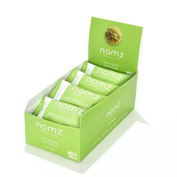 Nomz Energy Bites, PISTACHIO, 1.4 Ounce (12 pouches / 24 energy bites) Certified Organic, Vegan, Gluten Free, Paleo, Non GMO. A healthy snack and a delicious alternative to energy bars.