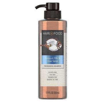 Hair Food Shampoo, Sulfate Free, Dye Free Nourishing Treatment, Coconut & Chai Spice, 17.9 FL OZ