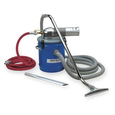 NORTECH N081DC Pneumatic Vacuum,10 HP,8 gal,60 cfm