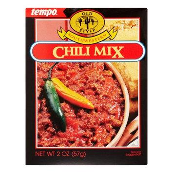 Tempo Old Style Chili Mix, Southwestern, 2 Oz, 12 Pack