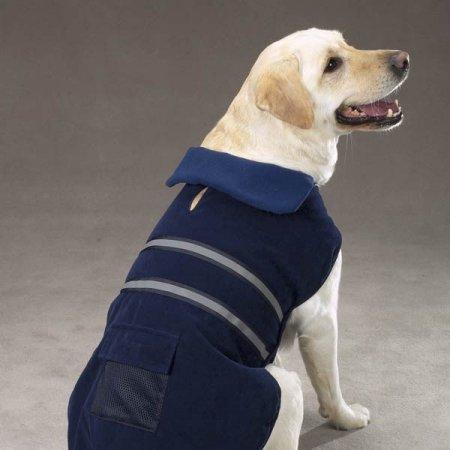 Casual Canine Reflective Dog Jacket XS NVY