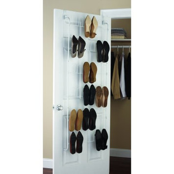 Mainstays Over The Door Shoe Rack White