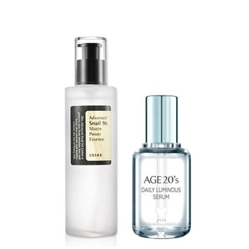 [COSRX] Advanced Snail 96 Mucin Power Essence + Gift: Age20's Daily Luminous Serum 50ml / Made in Korea: Beauty