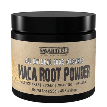Pure Organic Maca Root Powder (8oz / 226g), Gluten Free, Non-GMO, Vegan, All Natural Raw Superfood