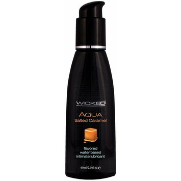 Wicked Sensual Care Water Based Lube, Salted Caramel, 2 Ounce [Salted Carame]
