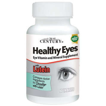 21st Century, Healthy Eyes with Lutein, 60 Tablets
