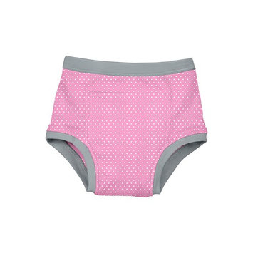 green sprouts Reusable Absorbent Training Underwear-Light Pink Dot-3T, Light Pink Dot, 3T