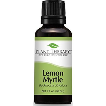 Plant Therapy Lemon Myrtle Essential Oil 30 mL (1 oz) 100% Pure, Undiluted, Therapeutic Grade