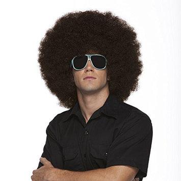Characters Jumbo Afro Synthetic Wig Brown