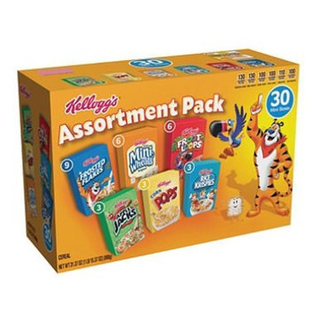 Kellogg's Jumbo Assortment Pack (32.7 oz., 30 ct.) x2