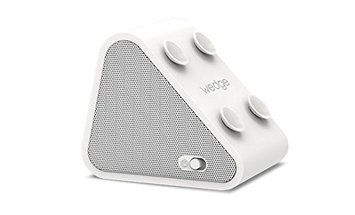Antec WEDGE-WHI Compact Bluetooth Speaker and Mobile Stand - White