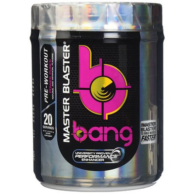 VPX Bang Pre-Workout Master Blaster, Power Punch, 20 Servings ( Packaging May Vary )