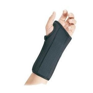 FLA Orthopedics 22-4511LBLK Pro-Lite 8 In. Wrist Splint Left Black XL