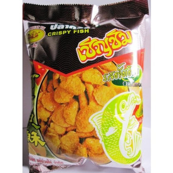 Crispy Fish Original Flavor Chern Chim Thai Snack Fish Snack (Original, 80 g)