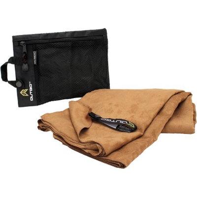 Outgo Microfiber Towel, 35 x 62 in, Mocha