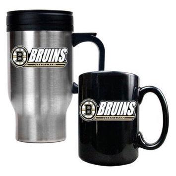 Great American Products NHL Travel Mug and Ceramic Mug Set