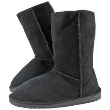Luxury Divas Faux Suede Designer Inspired Short Boots
