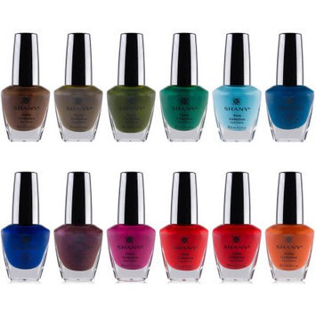 The SHANY Funky Collection Nail Polish Set - 12 Bold and Quirky Shades