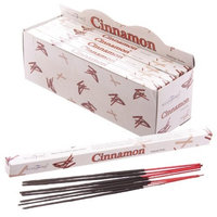 Stamford Squares Incense Sticks - 8 Sticks (Cinnamon) - Single Pack